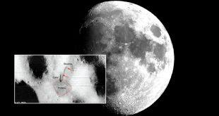 κεραία στην επιφάνεια της σελήνης